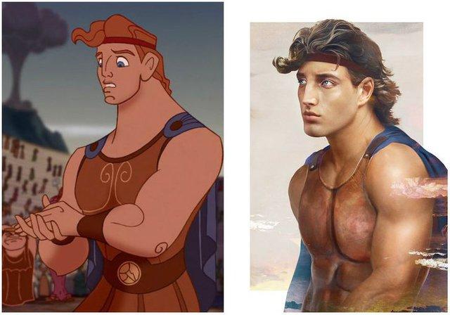 Khi những nàng công chúa, hoàng tử Disney bước từ phim ra đời thật trông càng quyến rũ bội phần - Ảnh 22.