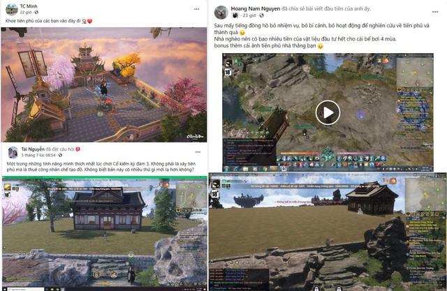 Xây dựng Tiên Phủ là thứ đang làm game thủ Cổ Kiếm Kỳ Đàm Online phát cuồng - Ảnh 2.