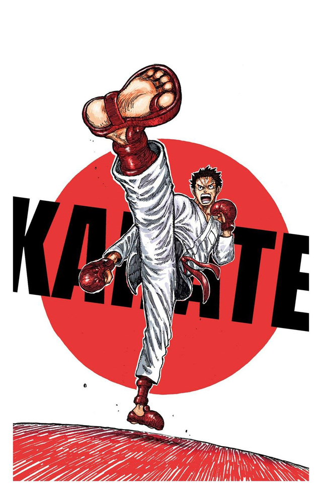 Đôi tông huyền thoại của Luffy xuất hiện trong tranh cổ động Olympic Tokyo mùa hè 2020 do tác giả One Piece vẽ tặng - Ảnh 1.