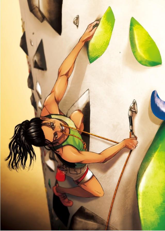 Đôi tông huyền thoại của Luffy xuất hiện trong tranh cổ động Olympic Tokyo mùa hè 2020 do tác giả One Piece vẽ tặng - Ảnh 4.