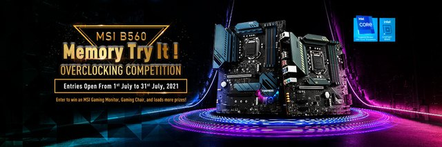 Enter the B560 Memory Try It Overclocking Contest!  to receive many attractive prizes from MSI Vietnam - Photo 1.