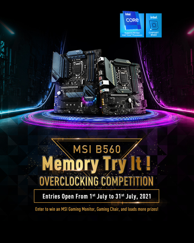 Enter the B560 Memory Try It Overclocking Contest!  to receive many attractive prizes from MSI Vietnam - Photo 2.