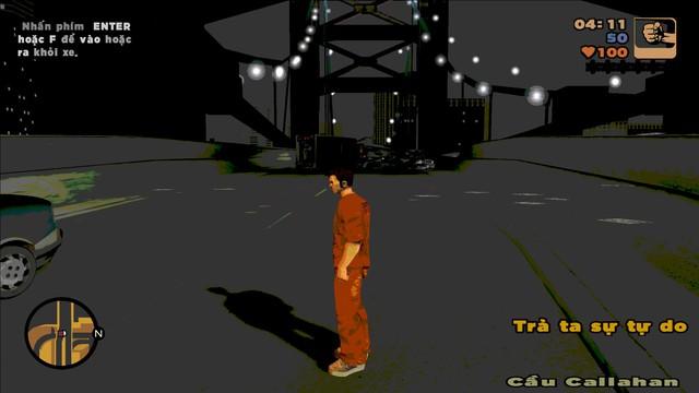 Tựa game tuổi thơ GTA 3 có bản Việt hóa hoàn chỉnh 100% - Ảnh 3.