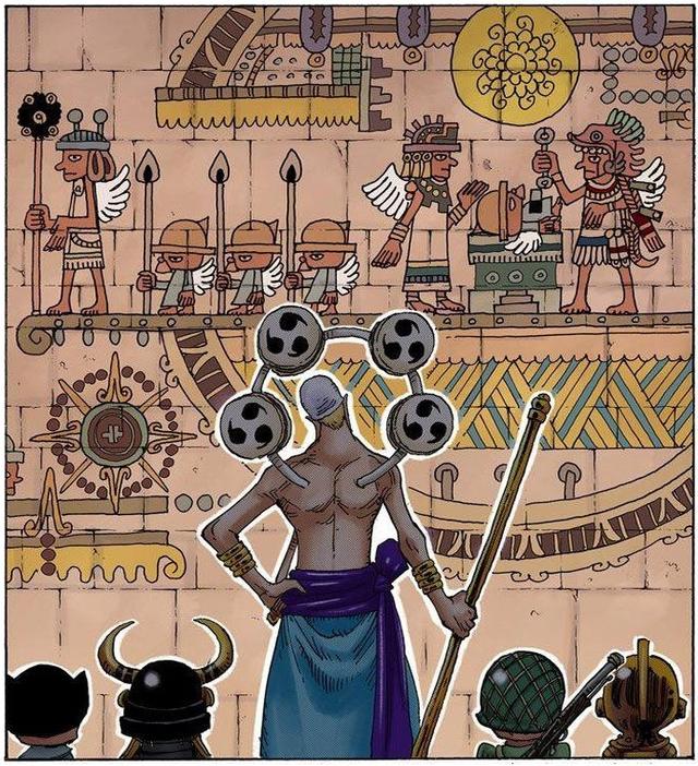 One Piece: Toàn bộ những lần xuất hiện của Thần Nika và Mặt Trời trong suốt series, đúng chỉ có thánh Oda mới thâm sâu được đến thế này - Ảnh 12.