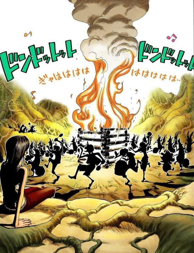 One Piece: Toàn bộ những lần xuất hiện của Thần Nika và Mặt Trời trong suốt series, đúng chỉ có thánh Oda mới thâm sâu được đến thế này - Ảnh 5.