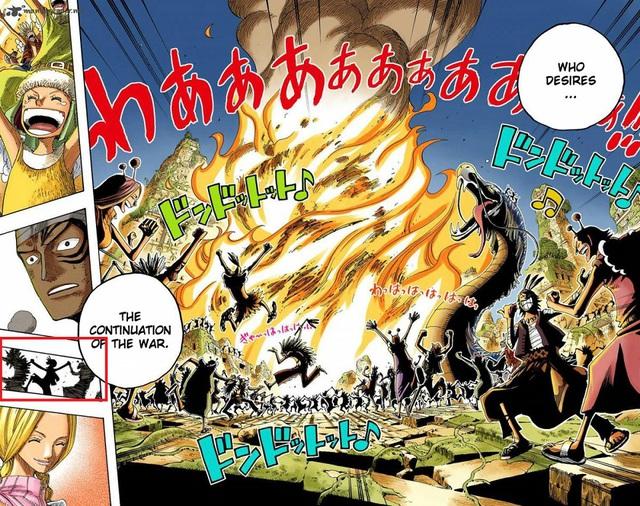 One Piece: Toàn bộ những lần xuất hiện của Thần Nika và Mặt Trời trong suốt series, đúng chỉ có thánh Oda mới thâm sâu được đến thế này - Ảnh 6.