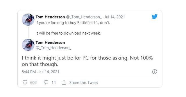 Game thủ sắp được chơi miễn phí bom tấn Battlefield 1 - Ảnh 2.