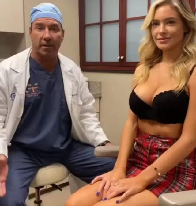 Bị nghi hack cheat vòng một, hot girl gây sốc khi mời hẳn bác sĩ thẩm mỹ tới, lên sóng nắn bóp để chứng minh hàng real - Ảnh 4.