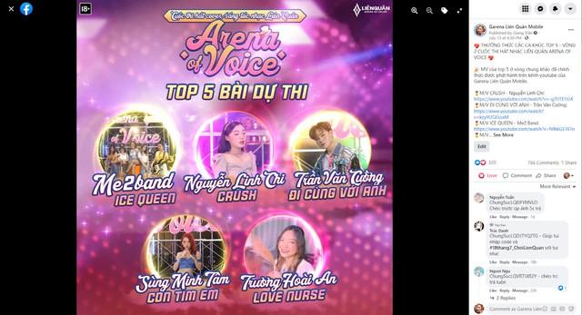 """Quán quân cuộc thi Liên Quân """"Arena of Voice"""" đã chính thức lộ diện, bất ngờ là 5 cô gái cực xinh đẹp - Ảnh 2."""