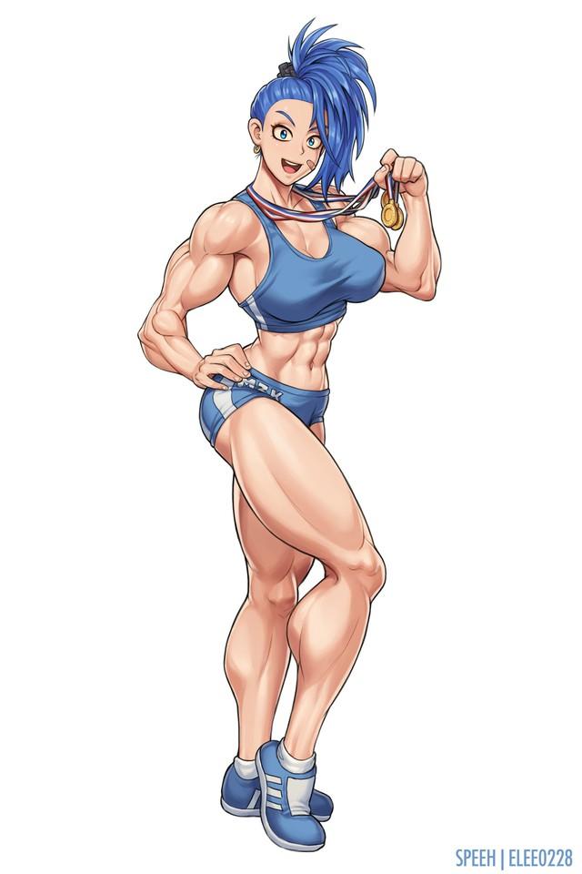 Đổi gió ngắm mỹ nữ cơ bắp trong One Punch Man, mặt xinh dáng chuẩn nhưng không hề liễu yếu đào tơ - Ảnh 9.