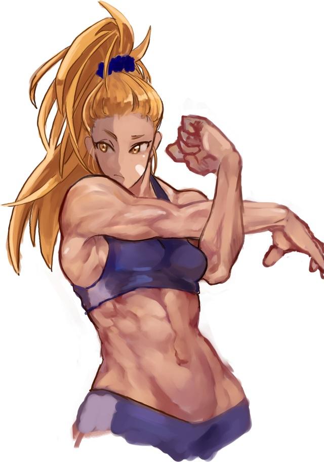 Đổi gió ngắm mỹ nữ cơ bắp trong One Punch Man, mặt xinh dáng chuẩn nhưng không hề liễu yếu đào tơ - Ảnh 10.