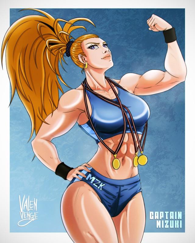 Đổi gió ngắm mỹ nữ cơ bắp trong One Punch Man, mặt xinh dáng chuẩn nhưng không hề liễu yếu đào tơ - Ảnh 13.