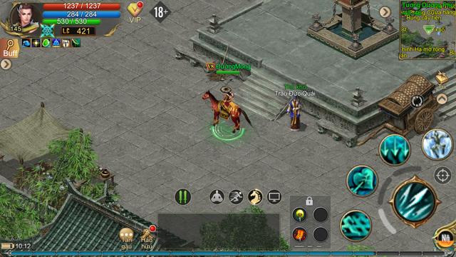 Ngắm nhìn những hình ảnh đầu tiên của Kiếm Thế ADNX Mobile: Viết tiếp huyền thoại - Kiếm Vương trở lại - Ảnh 3.