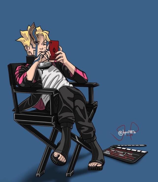 Boruto chap 60 chứng kiến cảnh Naruto nhận Kawaki là con nuôi, quyết tâm rèn giũa tài năng trẻ - Ảnh 2.