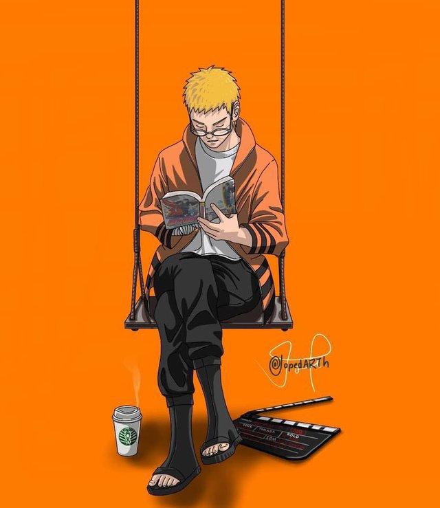 Boruto chap 60 chứng kiến cảnh Naruto nhận Kawaki là con nuôi, quyết tâm rèn giũa tài năng trẻ - Ảnh 3.