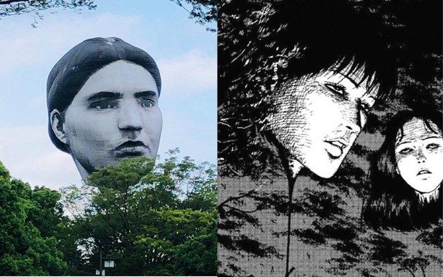 Khinh khí cầu đầu người lơ lửng trên bầu trời Tokyo - Nhật Bản khiến dân tình xôn xao - Ảnh 5.