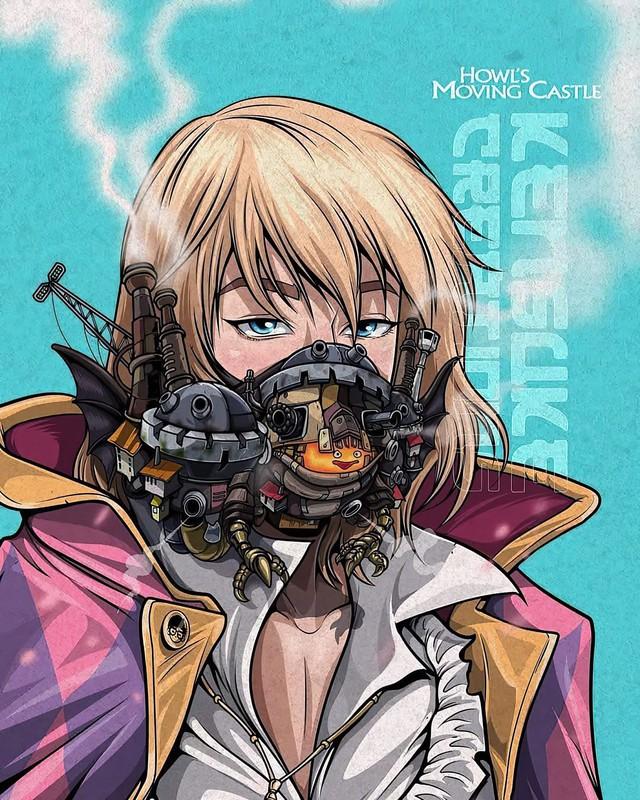 Mê mẩn những chiếc mặt nạ máy móc của dàn nhân vật anime, cảm giác vừa ngầu vừa an toàn - Ảnh 3.