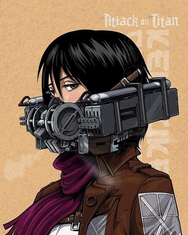 Mê mẩn những chiếc mặt nạ máy móc của dàn nhân vật anime, cảm giác vừa ngầu vừa an toàn - Ảnh 5.