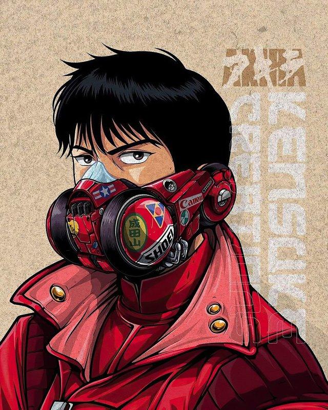 Mê mẩn những chiếc mặt nạ máy móc của dàn nhân vật anime, cảm giác vừa ngầu vừa an toàn - Ảnh 6.