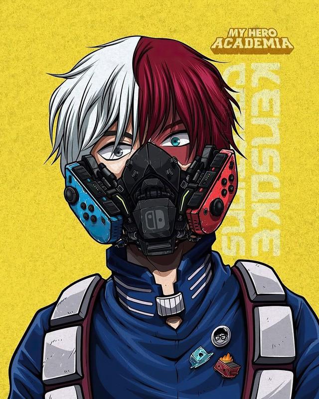 Mê mẩn những chiếc mặt nạ máy móc của dàn nhân vật anime, cảm giác vừa ngầu vừa an toàn - Ảnh 7.