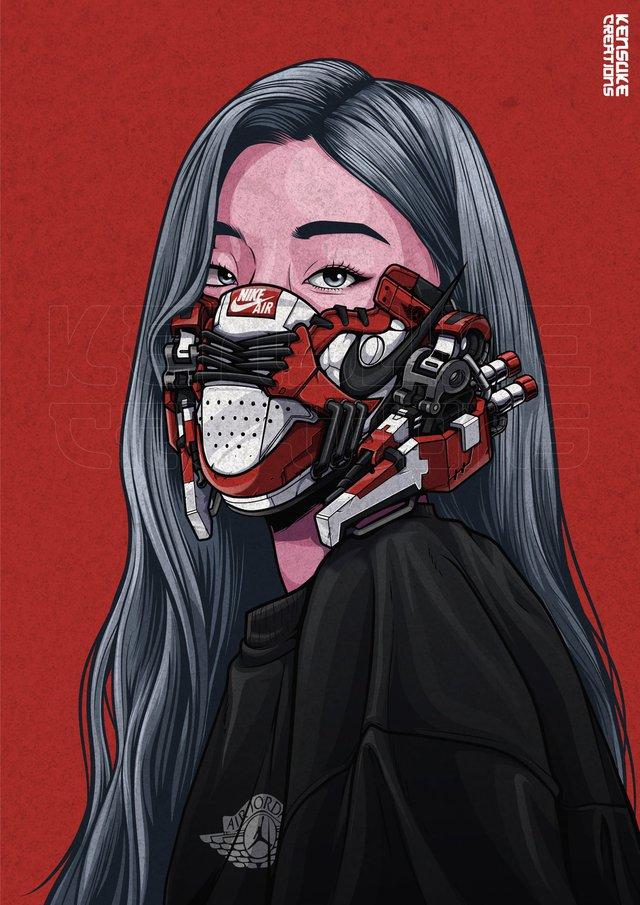 Mê mẩn những chiếc mặt nạ máy móc của dàn nhân vật anime, cảm giác vừa ngầu vừa an toàn - Ảnh 10.