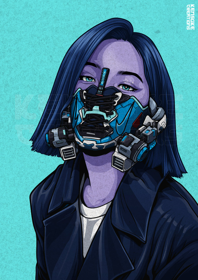 Mê mẩn những chiếc mặt nạ máy móc của dàn nhân vật anime, cảm giác vừa ngầu vừa an toàn - Ảnh 11.
