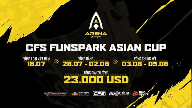 CFS Funspark Arena Asian Cup – Cơ hội thử sức trước thềm CFS 2021 của Đột Kích Việt - Ảnh 2.