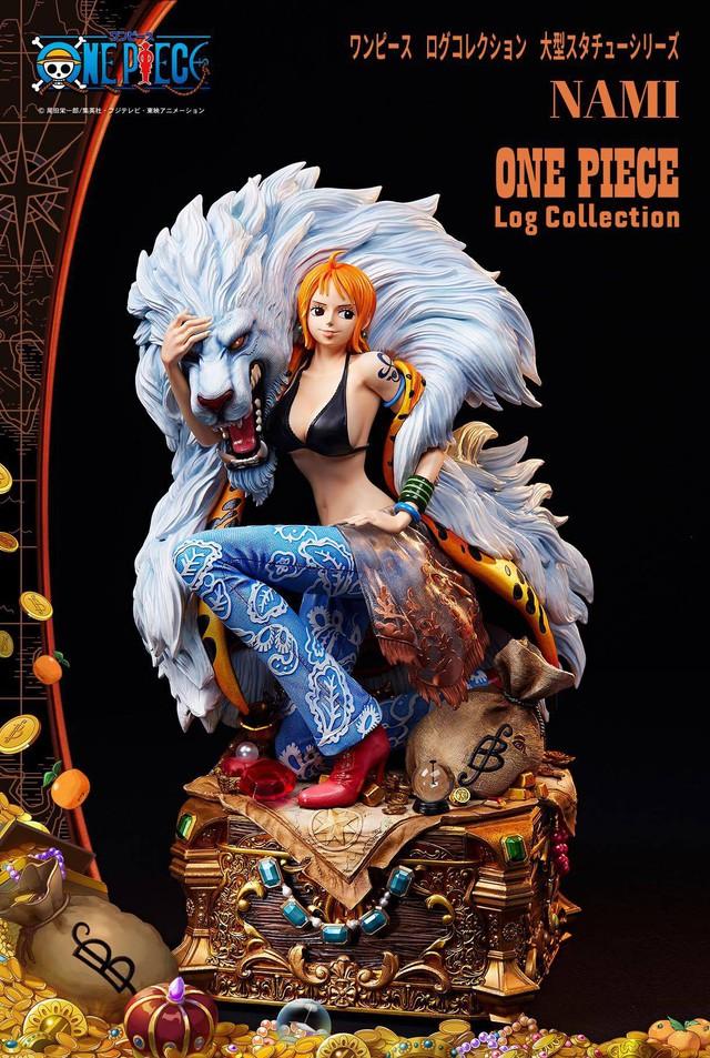 Các fan One Piece trầm trồ với figure cực khủng cao nửa mét chào mừng sinh nhật chị đại Nami - Ảnh 3.