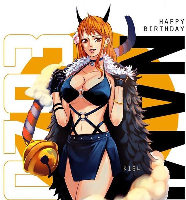 Các fan One Piece trầm trồ với figure cực khủng cao nửa mét chào mừng sinh nhật chị đại Nami - Ảnh 1.