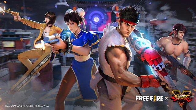 Người chơi Free Fire sẵn sàng tung chưởng trong màn hợp tác toàn cầu với Street Fighter V từ ngày hôm nay! - Ảnh 1.