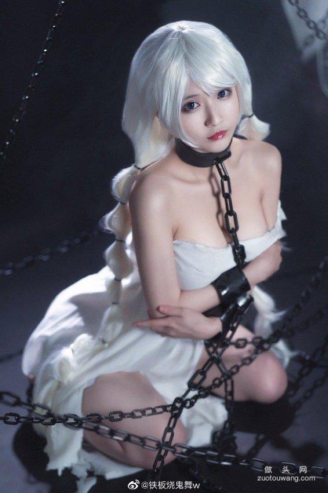Ngắm gái xinh Azur Lane phiên bản nữ tù nhân chờ anh hùng tới giải cứu mỹ nhân - Ảnh 5.