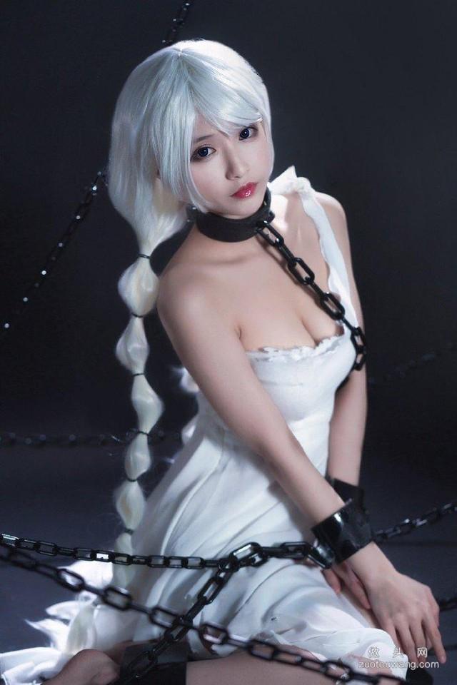 Ngắm gái xinh Azur Lane phiên bản nữ tù nhân chờ anh hùng tới giải cứu mỹ nhân - Ảnh 7.