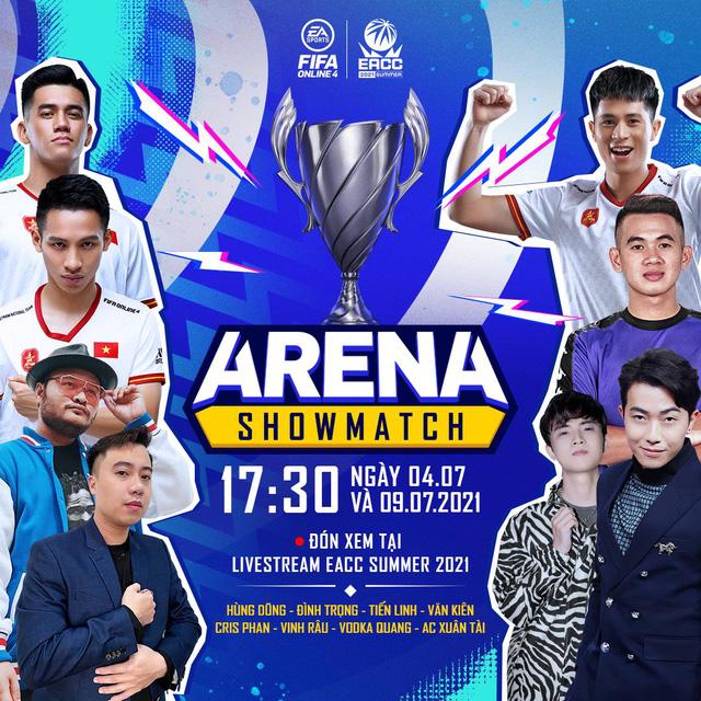 Cris Devil Gamer, Vinh Râu, Hùng Dũng cùng dàn tuyển thủ Việt Nam sẽ xuất hiện trong gameshow mới của FIFA Online 4 - Ảnh 1.