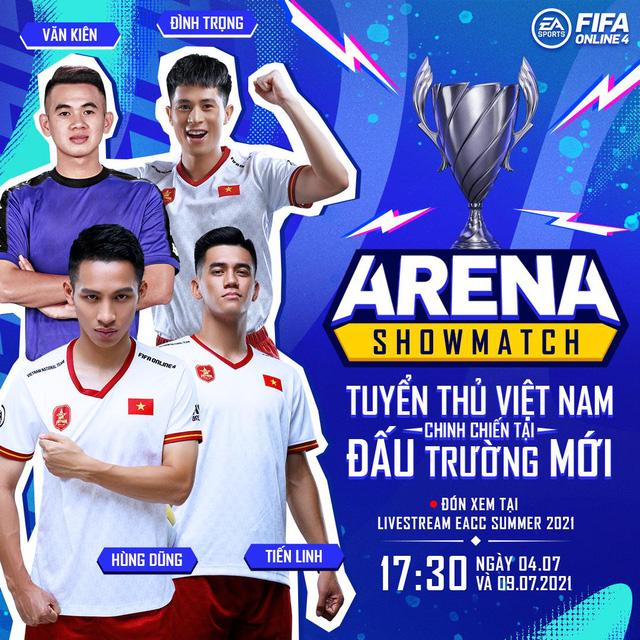 Cris Devil Gamer, Vinh Râu, Hùng Dũng cùng dàn tuyển thủ Việt Nam sẽ xuất hiện trong gameshow mới của FIFA Online 4 - Ảnh 2.