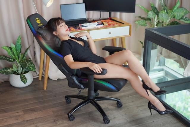Chất chơi game thủ: Hút hồn với ghế gaming RGB E-DRA Rock Star EGC223 - Ảnh 2.