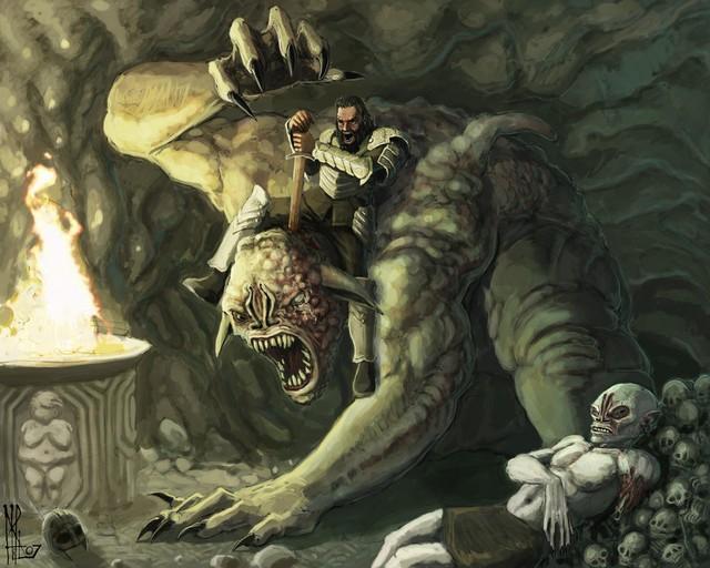 8 quái vật quyền lực nổi tiếng trong thần thoại khắp thế giới (P.1) - Ảnh 2.