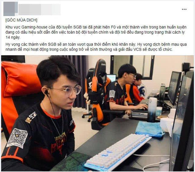 Bị tung tin đồn có ca F0 trong Gaming House, Saigon Buffalo đưa ra phản hồi đanh thép - Ảnh 1.