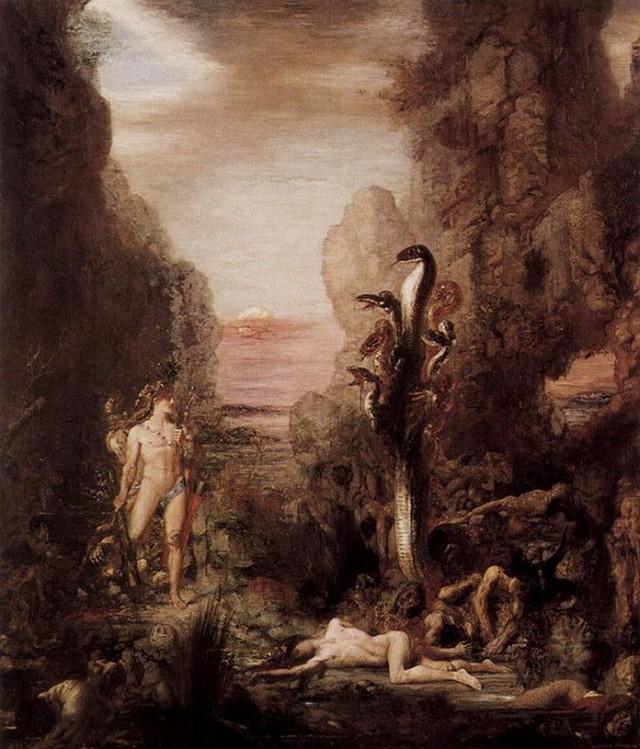 Những con quái vật rắn nổi tiếng trong thần thoại Hy Lạp - Ảnh 2.