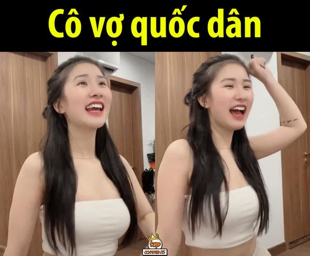 Cận cảnh nhan sắc cô nàng hot girl Việt siêu vòng một đang được CĐM ca tụng, tranh nhau nhận vợ quốc dân - Ảnh 2.