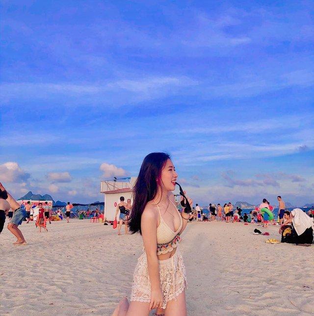 Cận cảnh nhan sắc cô nàng hot girl Việt siêu vòng một đang được CĐM ca tụng, tranh nhau nhận vợ quốc dân - Ảnh 9.