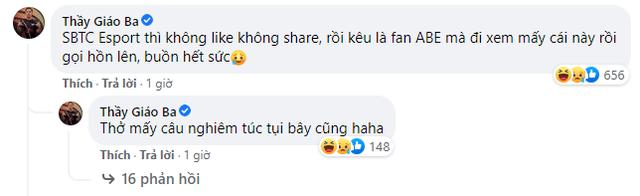 Liên tục bị tag vào những kỷ niệm với Sena, Thầy Giáo Ba than thở: Bài về SBTC thì chả thấy fan like, share bao giờ - Ảnh 3.