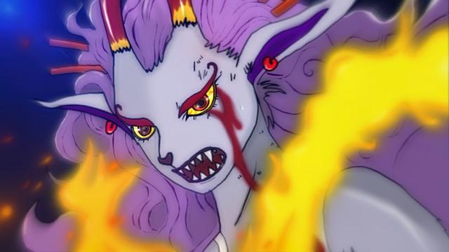 One Piece: Trái ác quỷ Zoan thần thoại của Yamato dường như sở hữu sức mạnh có thể cầm chân ông bố Tứ Hoàng? - Ảnh 4.