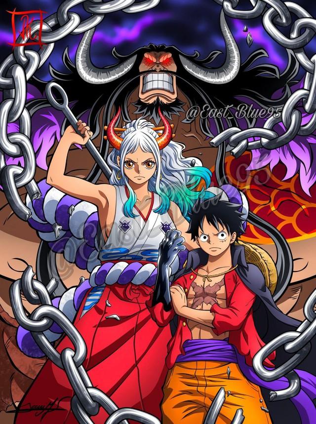 One Piece: Trái ác quỷ Zoan thần thoại của Yamato dường như sở hữu sức mạnh có thể cầm chân ông bố Tứ Hoàng? - Ảnh 6.