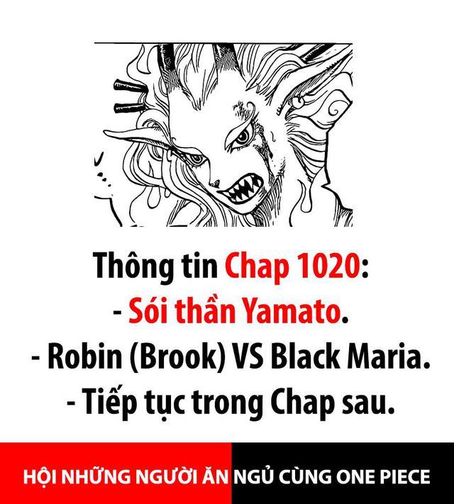 Spoil nhanh One Piece 1020: Yamato ăn trái ác quỷ Zoan Thần Thoại loại Thần Sói - Ảnh 2.