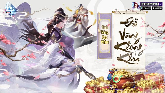 Phi Tiên Mobile – Khám phá thế giới Tu Tiên với hành trang tân thủ cực xịn sò - Ảnh 4.