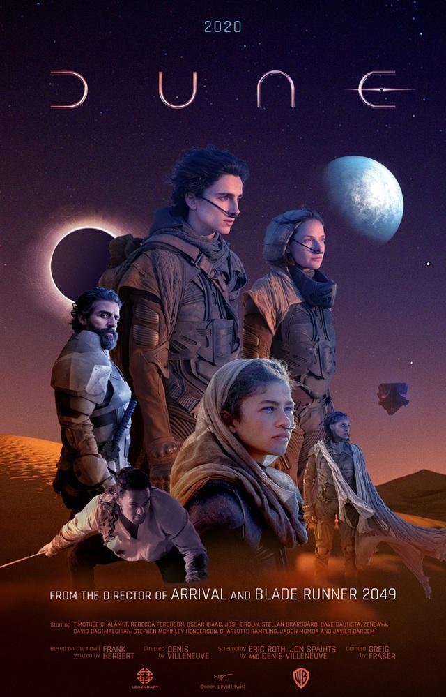 Dune: Hành Tinh Cát - bom tấn khoa học viễn tưởng mới của nhà Warner Bros. quy tụ dàn sao Hollywood đình đám - Ảnh 11.