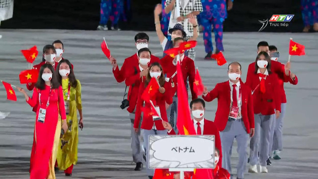 The legendary game music sounded during the opening ceremony of the 2020 Olympic Games - Photo 2.