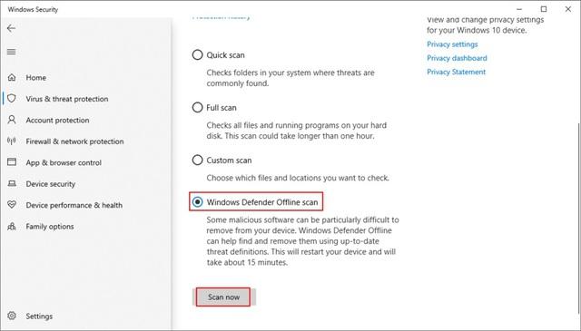 """Hướng dẫn sửa lỗi màn hình xanh """"chết chóc trên Windows 10 - Ảnh 16."""