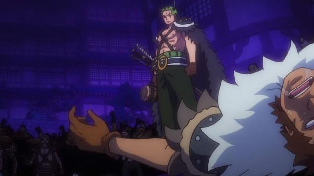 One Piece tập 984: Zoro bất ngờ sử dụng Haki bá vương làm ngất xỉu binh lính của Kaido - Ảnh 2.