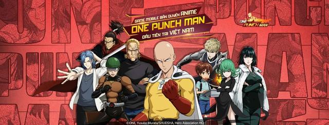 """One Punch Man: The Strongest hứa hẹn """"đánh gục"""" game thủ Việt bởi những thành tựu nổi bật của một thương hiệu đình đám - Ảnh 1."""
